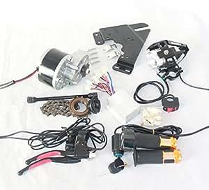 250w lectrique brosse moteur pour v lo lectrique acc l rateur avec interrupteur cl et tension. Black Bedroom Furniture Sets. Home Design Ideas