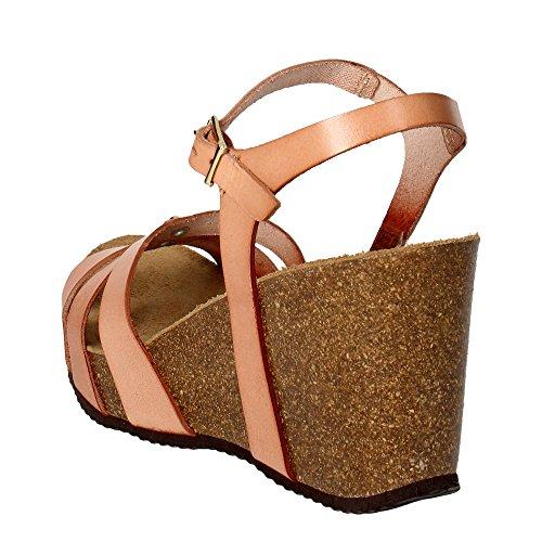 Grunland SB0615-70 Sandalo, pelle, Donna, cuoio Cuoio