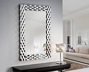 miroirs originaux en verre mod le omega. Black Bedroom Furniture Sets. Home Design Ideas