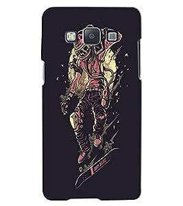 Citydreamz Skull/Skeleton/Horror/Dark/Fear/Scary/Ghost/Monster Hard Polycarbonate Designer Back Case Cover For Samsung Galaxy J2 Pro