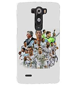 PRINTSHOPPII FOOTBALL Back Case Cover for LG G2::LG G2 D800 D980
