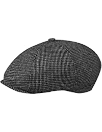 a8292f949fd8b Amazon.co.uk  Black - Flat Caps   Hats   Caps  Clothing