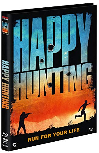 Happy Hunting - Uncut - Mediabook - Limited Uncut Edition (+ DVD), Cover A [Blu-ray]