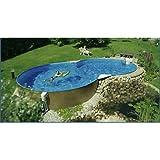 Schwimmbecken 8-form Elba 5,25 x 3,20m/1,50