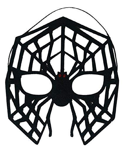 Damen Herren Spinne Maske Tier Halloween Superheld Kostüm Augen Maske Zubehör