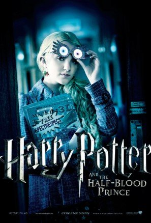 HALF BLOOD PRINCE - Luna Lovegood - US Imported Movie Wall Poster Print - 30CM X 43CM Brand New ()