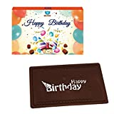 #10: BOGATCHI Birthday GIFTS FOR MEN, Greetings, DARK CHOCOLATES, LOVE CHOCOLATES, PREMIUM CHOCOLATES, 70 g