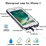 Wirwave Wasserdichte Telefonkasten staub- populäre Marken Touch Fingerabdruck für iphone 7 (weiß)