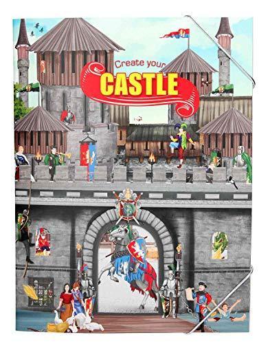 Depesche 10366 - Malbuch Create your Castle, mit Stickern