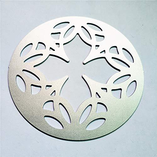 Stanzschablone Metall Schablone Schablone für DIY Scrapbook Album Papier Kartenherstellung (Lace Flower Stanzform), siehe abbildung, kaleidoscope 2 (Bau-einladungen 2.)