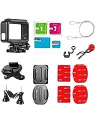 Greleaves Gopro Accesorios Essential Mounting Kits - Motorcycle Bicycle Soporte Manillar Trípode Montura y Base Montaje Marco Frame con Otros Accesorios para Gopro Hero 5
