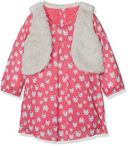 Mothercare Baby-Mädchen Cat Bekleidungsset, Pink 130, 24-36 Monate 100% Poly Fleece