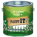 Paint IT! langfristiger 2-Komponenten Fliesenlack alternative zum Kuchenschild/Küchenspiegel SET inkl. Härter GLÄNZEND ALLE RAL Töne Fliesenlack Lack (2,5 kg, Cremeweiß)