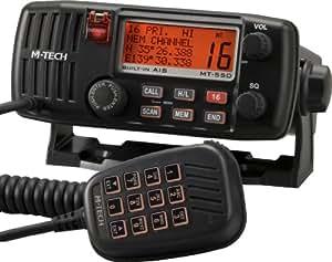M-Tech Funktelefon, DSC/ UKW, zur festen Anbringung, mit eingebautem AIS-Empfänger, MT550