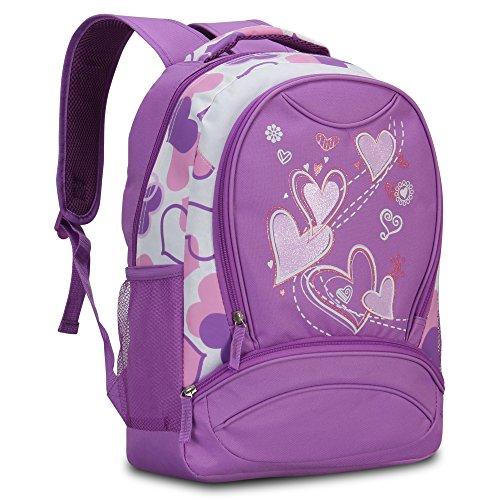 Imagen de veevan  con dulce corazón para niños escolares violado  alternativa