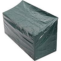 Woodside - Bâche/Housse de protection pour banc quatre places - imperméable - vert - 1,8 m/6 ft