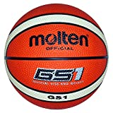 Molten BGS1-OI Basketball Größe 1 Miniball Orange / Creme, Größe 1