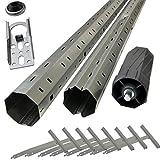 Sol Royal Rohrmotor Zubehör Paket: Montagehilfe für Rolllädenmotoren - Komplettset für Rollläden bis 3 Meter Breite