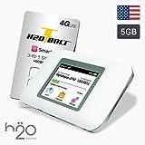 USA Prepaid Daten SIM-Karte 5GB in 4G LTE + WiFi Hotspot-Router - AT&T-Netz - 30 Tage für USA Touristen