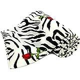Home Spaces Single Bed Designer Print Reversible Single Bed Ac Dohar/Blanket