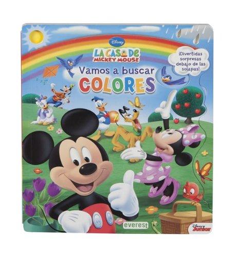 Portada del libro La Casa De Mickey Mouse. Vamos A Buscar Colores (Libros de cartón Disney)