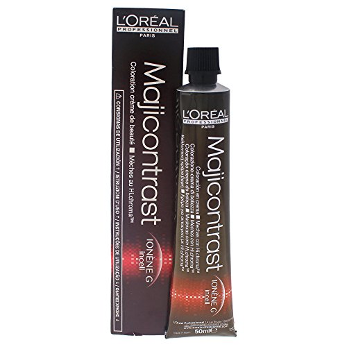 L'Oréal Professionnel Majicontrast Strähnen-Creme, rot, 1er Pack (1 x 50 ml) (Farbe Ultra Roter)