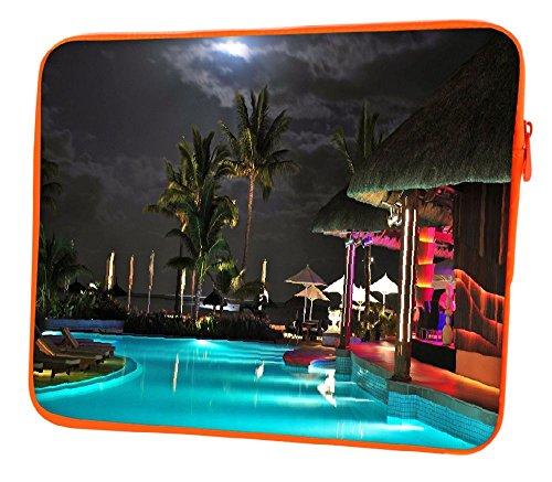 Snoogg Notte Sulla Spiaggia Tropicale a 12pollici per 12,5
