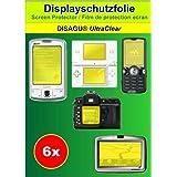 6x Film de protection d'écran Ultra Clear pour Sony DSC-W150
