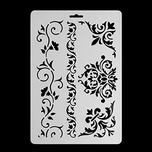 FXCO DIY Fertigkeit-Spitze-Wände, Die Scrapbooking Dekorative Anstrichschablone Prägen Papierkarten Malen