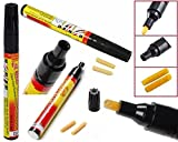 CONNECTWIDE- Car Auto Scratch Remover Repair Pen Fix Tool (Black&Yellow), Scratch Paint Care
