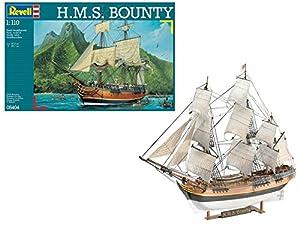 Revell- Maqueta H.M.S. Bounty, Kit Modello, Escala 1:110 (5404) (05404)