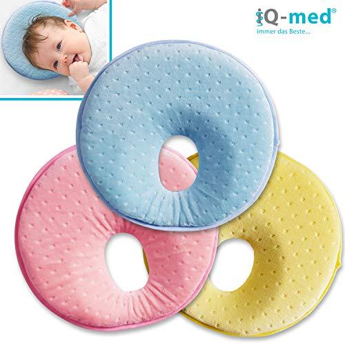Babykissen von iQ-med® | Baby-Kissen gegen Verformung und Plattkopf