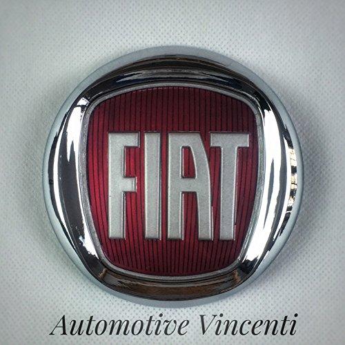 ornement-embleme-logo-fiat-rouge-bravo-500-grande-punto-idea-arriere