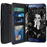 Housse Huawei Honor 9, Scott-FR Housse Coque Etui de luxe Portefeuille Porte Carte Et...