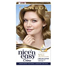Clairol Nice' n Easy Crème, Natural Looking Oil Infused Permanent Hair Dye, 7 Dark Blonde 177 ml