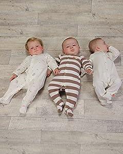 The Essential One - Pijama para bebé - Paquete de 3 - ESS117 - BebeHogar.com