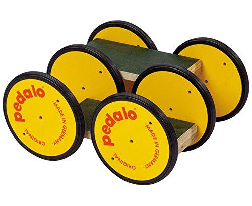 Preisvergleich Produktbild pedalo®-Classic, Farbe: schwarz - Sporthalle, Pausenhof, hochwertig, äußerst robust, Trittfläche jeweils: 30 x 14 cm, belastbar bis 200 kg