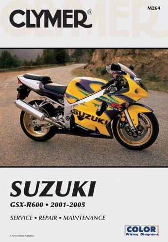 Suzuki Gsx-R600 2001-2005 (Clymer Motorcycle Repair) por Penton