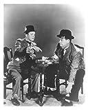 Laurel und Hardy Motiv Stillleben Klassischer Bilderrahmen 10 x 8