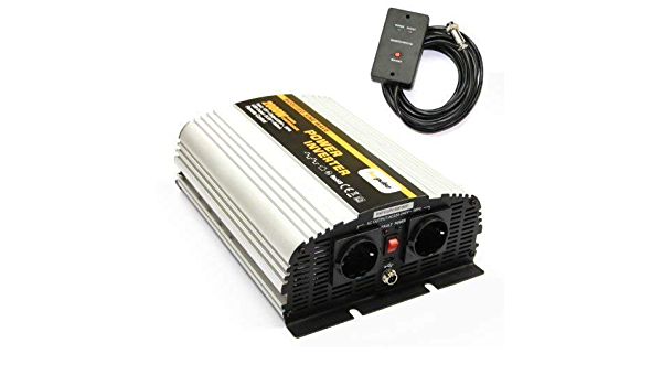 Spannungswandler Ns 12v 2000 Watt Inverter Elektronik