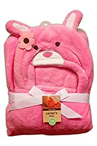 Baby Station Carter's Hooded Blanket/Wrap (Pink)