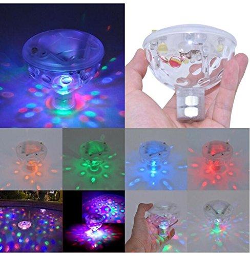 ZEARO Schwimm Unterwasser LED Disco AquaGlow Licht Anzeigen Schwimmbecken Whirlpool Spa Lampe