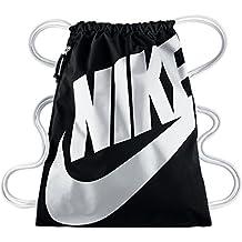 076cdfb0f1f39 Nike Heritage Gymbag Gymsack Turnbeutel BA5351 (black white)