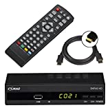 Comag DKR 40 Full HD DVB-C Kabelreceiver + HDMI Kabel (HDMI/SCART/USB), PVR Ready, Mediaplayer...