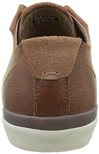 Geox  U Smart E, Sneakers Basses homme Marron (Browncottoc6003)