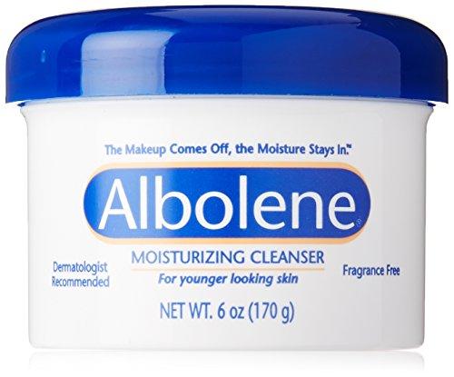 Albolene Crème démaquillante hydratante - Enrichie en vitamine A et E - Non parfumée - 175 ml