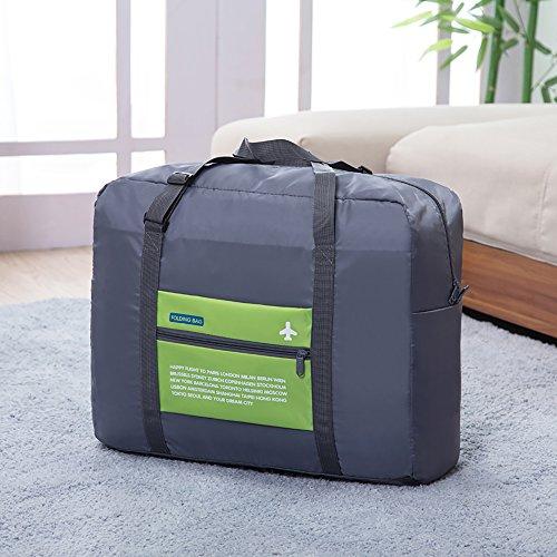 ARKTeK viaggio leggero palestra del Duffel Bag pieghevole di immagazzinaggio sacchetto dei bagagli (Green)