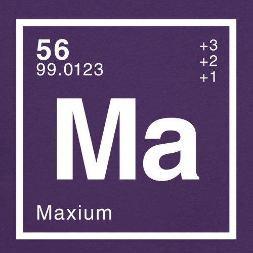 Max Periodensystem - Herren T-Shirt - 13 Farben Lila