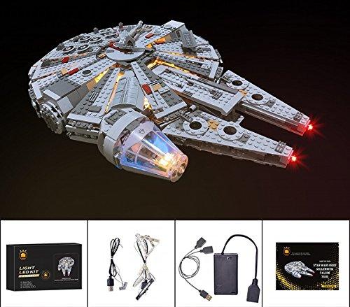 ARUNDEL SERVICES EU Delux LED Light Up Kit Lego Star