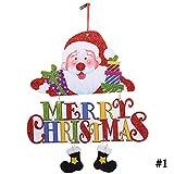 Zoylink Decorazione D Attaccatura di Festival D Attaccatura del Festival del Pupazzo di Neve del Fumetto dell Ornamento di Natale